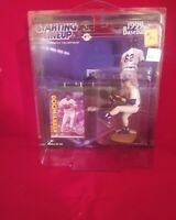 Starting Lineup 1999 MLB Kerry Wood Figurine w/baseball card and PROTECH CASE