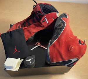 Air Jordan 21 XXI OG Red Suede Varsity  313495-602 Size 11 Nike Pods W/Box