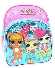"L.O.L Surprise! X-Small School Backpack 10"" Girls Bag Blue Lol Bag Shine Blue"