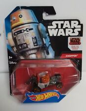 HOT WHEELS - Star Wars Rebels Chopper Action Figure Vehicle Lucasfilm Mattel '14