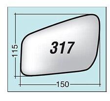 Vetro specchietto Ford sx asf. term. con piatt. attacco piatt. tondo ASF317SPR