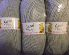Grey Baby Rambler Aran by Jarol  5 x 100grms