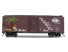 HO Scale Model Railroad Trains Layout Missouri Pacific 40' Boxcar Rolling Stock