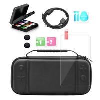 6 in 1 Mini Portable Storage Bag Accessories Kits for Nintendo Switch Lite AU