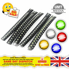 SMD/SMT LED's - 0402, 0603, 0805, 1206 - Red, Blue, Green, White, Orange, Yellow