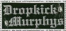 "Dropkick Murphys Blackout Sticker Circa 2003 Rare 4"" x 1.75"""