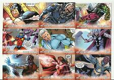 "2011 MARVEL AVENGERS KREE-SKRULL WAR 9 CARD ""CHARACTER"" SET!! CAP,IRON MAN,ETC"