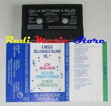 MC il meglio musica italiana PROMO DIXAN LEALI PATTY PRAVO*VALLESI cd lp dvd vhs
