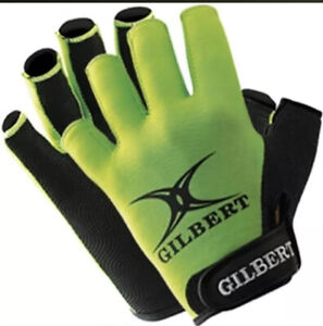 Gilbert Synergie Rugby Gloves Size Mens Large BNWT Sealed Breathable Adjustable