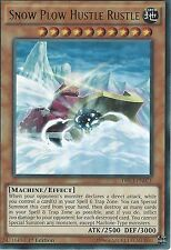 YU-GI-OH ULTRA RARE CARD: SNOW PLOW HUSTLE RUSTLE - DRL3-EN071 - 1st EDITION