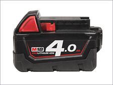 Milwaukee M18B4 18-Volt 4.0Ah Red Lithium Battery