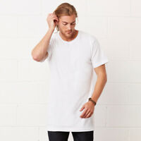 3 Pack Bella Canvas EXTRA LONG T-SHIRT LONGLINE LENGTH TALL BODY TEE SKATER MEN