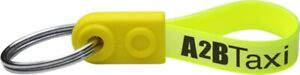 Mini Ad Loop Key Ring Fobs - Custom Printed 1 Colour for you - Made in the UK
