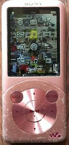 Sony Walkman NW-S755 Pink 16GB