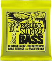 Strings Ernie Ball Electric Bass Guitar 2832 Regular Slinky 50-105 Nickel Wound