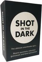 Shot In The Dark - Xmas Card Quiz Game Christmas Family Fun Question Gaming New