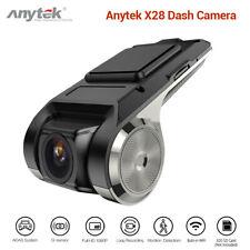 CA! Anytek X28 FHD 1080P 150° WiFi Car Dash Cam Camcorder Recorder ADAS G-sensor