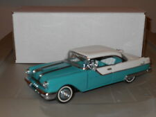 Franklin Mint 1955 Pontiac Star Chief 1:24 aqua
