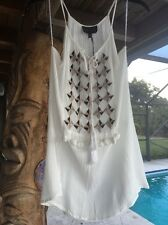 ANTHROPOLOGIE SHIRT TUNIC ROMEO AND JULIET COUTURE BOHO CHIC 75.00 STEAL