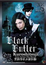 Black Butler : Kuroshitsuji Live Action The Movie 黒執事真人剧场版 Box DVD + Free Gift