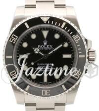 Rolex Submariner 114060 No Date 40mm Black Stainless Steel Oyster BOX PAPERS