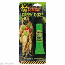 Zombie Green Ooze Halloween Makeup Special Effects Green Blood Effect
