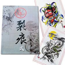 60Pages Dragon Koi Tattoo Art Designs Flash Manuscript Sketch Line Book New