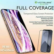 iPhone 12 11 Pro Max XS XR X Full Coverage Tempered Glass Screen Protector Apple