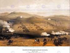 PAINTING LANDSCAPE WAR SIMPSON CHARGE LIGHT BRIGADE POSTER ART PRINT BB12843B