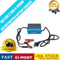 Car Battery Charger  Pulse Repair Type  4-200AH  6V/12V 2A 6A 10A Intelligent AU