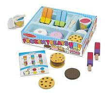 Food Play Set Kids Toddler Ice Cream Sandwich Popsicle Pretend Boy Girl New