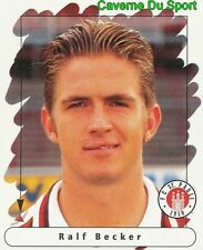 164 RALF BECKER GERMANY FC ST. PAULI STICKER FUSSBALL 1996 PANINI