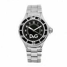D&G Dolce & Gabbana DW0511 Anchor Armbanduhr Unisex, Edelstahl, Silber - Neu