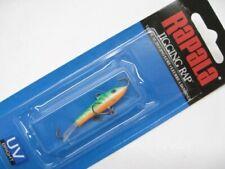 "Rapala W3-GTU 1-1/2"" W3 Green Tiger UV Jigging Rap Size 03 Fishing Lure"