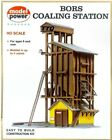 HO SCALE TRAINS COALING STATION BUILDING KIT