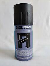 Código de barras hacha al azar (182) (1) completo, Ltd Edition Desodorante * Argentina * Lynx Spray