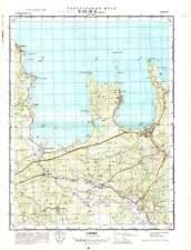 Russian Soviet Military Topographic Maps - VOSU/ KASMU (Estonia), ed.1974