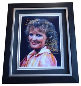 Petula Clark SIGNED 10x8 FRAMED Photo Autograph Display Music Memorabilia COA