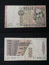 BANCONOTA LIRE 1000 MARCO POLO  ASTA DA 0,99