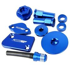 New Blue Billet Bling Kit Yamaha WR450F YZ450F YZ WR 450F 10-18