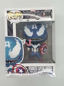 Funko Pop! #364 Marvel Venom Venomized Captain America