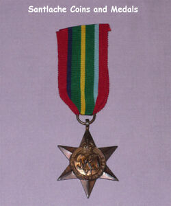 ORIGINAL 1939-45 PACIFIC STAR WITH RIBBON