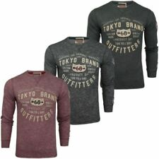 Long Sleeve Graphic Tee Tokyo Laundry T-Shirts for Men