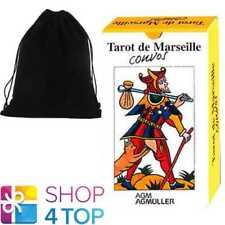 TAROT DE MARSEILLE CONVOS DECK CARDS RUSSIAN EDITION AGM WITH VELVET BAG NEW