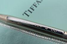 Tiffany & Co Twist Cap Ball Point Ink Pen Vintage Sterling Silver
