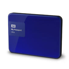 WD My Passport Ultra 1TB Noble Blue Manufacturuer Refurbished Hard Drive by W...