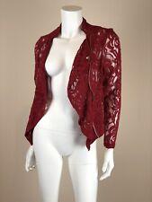 INC  Women's Jacket Cotton/Nylon Glamorous Red Petite SmallINC20