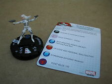 Nr .011 SILVER SABLE      +CARD / MARVEL HEROCLIX