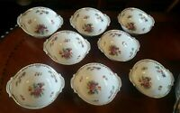 Noritake Dresdoll China Lugged Cereal Bowls (Lot of 8) Mint - SCARCE RARE