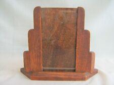 Art Deco Photo Frame - wood oak vintage